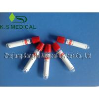 Medical Serum Collection Tubes 13mm x 75mm Clot Activator Tube , Serum Tube Manufactures