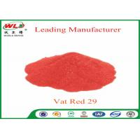 Deep Dyeing Chemical Dyes C I Vat Red 29 Vat Scarlet R Vat Dyes And Pigments Manufactures