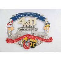 Lynn Anna Carnival Medal By Zinc Alloy , Soft Enamel , Antique Nickel Plating Manufactures