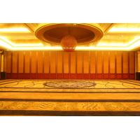 China Custom Made Building Design Decorative Panel Restaurant Movable Partition MDF Panel Customizable Color for Banquet Hall on sale