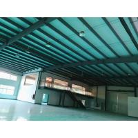 Epoxy Coating Floor Prefab Steel Structure Workshop With Inside Office Buildings Manufactures