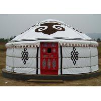 5 Person Mongolian Yurt Tent / Canvas Yurt TentWith Three Layer Wrap Cloth