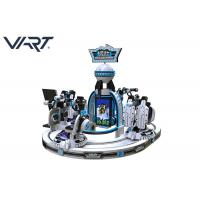 VR Space Parent - Child Interactive Virtual Reality Machine For 4 Players Manufactures