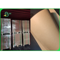 China Non - toxic Food Grade 80gsm Brown Kraft Paper For Packing High Stiffness on sale