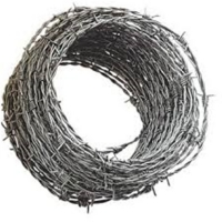 China Theftproof barbed wire Galvanized or PVC Barbed Wire Farm Fence on sale