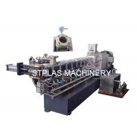 Co Rotating Twin Screw Extruder For Polymer Compounding / Filler Masterbatch Manufactures