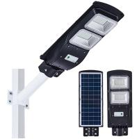 Integrated All In One Solar Powered Led Parking Lot Lights With Pir Sensor Abs Material Manufactures