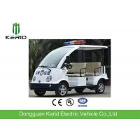 Adults 4 Seater Electric Patrol Car / Electric Club Cart With Alarm Lamp Manufactures