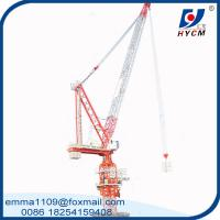 Luffing Tower Crane QTD120 (4522) 6 Tons Max. Load Parameter For Buildings Manufactures
