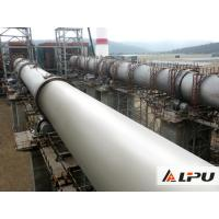 High Capacity Lime / Limestone Rotary Kiln Equipment In Cement Production Line Manufactures
