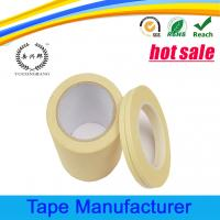 Buy cheap General purpose crepe paper masking tape with many colors from wholesalers