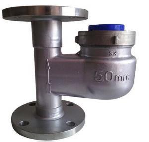 Stainless Steel Vertical Multi Jet Water Meter , Dry Dial 2 Inch Water Meter Manufactures