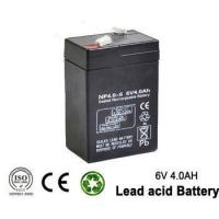 6v 4ah Rechargeable Emergency Light Lead acid battery for UPS Manufactures