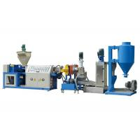 China PLC Control Plastic Recycling Production Line , Pp Plastic Recycling Machine on sale