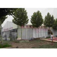 9m X 21m Waterproof Festival Tent Aluminum Alloy Frame With PVC Fabric Manufactures