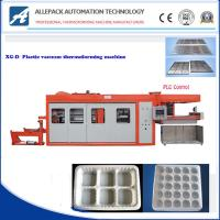 Egg Tray Plastic Thermoforming Machine Servo Drive For Pp / Pvc / Pe Container Manufactures