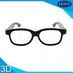 Movie Circular Polarized 3D Glasses / Cinema Use 3d glasses circular polarized Manufactures