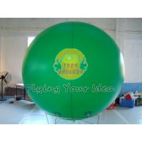 Giant Green Color PVC Inflatable Advertising Balloon Filled Helium Gas for Political event Manufactures
