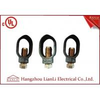 """3/8"""" 1/2"""" Ground Rod Clamp Brass Electrical Wiring Accessories Customized Manufactures"""