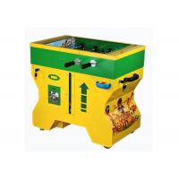 Steel Material Coin Operated Soccer Table , Mini Soccer Table SGS Certification Manufactures