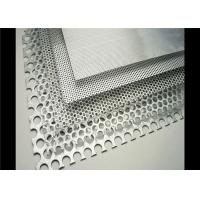 Filter Mesh And Decorative Perforated Metal Mesh Punched Hole 1.5-3m Length Manufactures