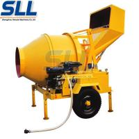 Drum Rotated Portable Concrete Mixing Equipment Self - Falling Type 5.5kw Manufactures