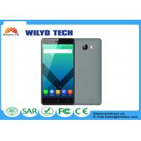 Gray OEM fast processor mobile phones Mt6580 Android 3g 5.1 OS 2gb Ram Manufactures