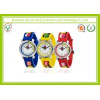 Multi-color Silicone Band Children Wrist Watch 3D Cartoon Durable Manufactures