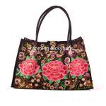 National trend hmong embroidery handbag chinese fashion ladies handbags Manufactures