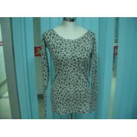 Cotton Blends Ribbed Fashion Pullover Sweaters For Young Girls Full Stars Printing Manufactures