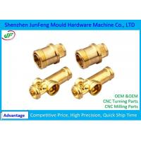 Brass Cnc Turned Parts Lathe Turning Machine Mechanical Parts Manufactures