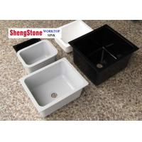 Acid Resistant Epoxy Resin Sink For Clinical Laboratory Equipment CE SGS Listed Manufactures