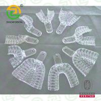 China Cold Disinfect / Disposable PS Matetrial Clear Plastic Dental Impression Tray IM003B on sale