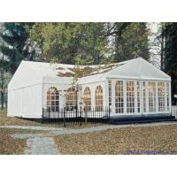 China Customized Camping Canvas Tent White , Marquee Party Tent With Double PVC on sale