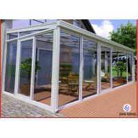 China Home Greenhouse Aluminium Windows And Doors For Sunrooms Glazing Garden on sale