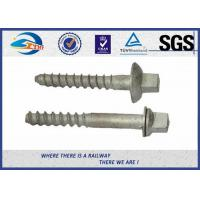 Hexagon Railway Sleeper Fixings / Track Hex Head Sleeper Fixing Screws