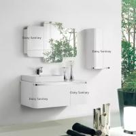 Fashion Wall Mounted Bathroom Vanity , Modern Bath Vanity With Big Drawer And Door Manufactures