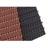 China PVD Colored Rigid Metal Mesh Panels, Sunshade Stainless Steel Elogated Mesh on sale