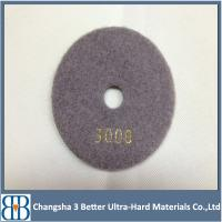 High working efficiency diamond polishing pads for marble granite Manufactures