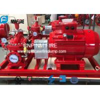Electric Motor Driven Split Case Fire Pump 500GPM@180PSI For Water Use Manufactures