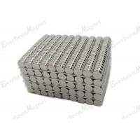 High Temp Cobalt Samarium Magnets , Ni - Coated Small Strong Magnets For Fire Place Manufactures