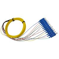 2 M Fan - Out  Fibre Optic Tails SC Connector For ATTV / Optical Distribution Frame Manufactures