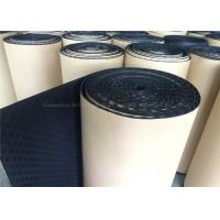Acoustic Foam Sound Proofing Mat Black Eggcrate 10mm Rooms / Studio Noise Damping Manufactures