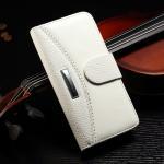 No Scratch Iphone 7 Leather Wallet Case , Paint Oil Split Vintage Wallet Case Manufactures
