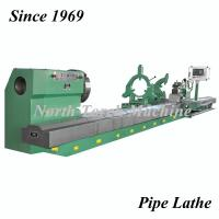 Durable Pipe Threading Lathe , Cnc Metal Lathe Intelligent Control System Manufactures