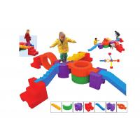 Indoor Plastic Indoor Playground Equipment Various Colors Non - Toxic Manufactures