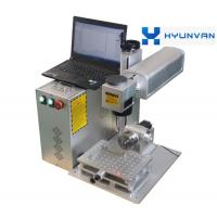 3D Color Printed Fiber Laser Marking Machine For Plastic Tag Key Chains Manufactures
