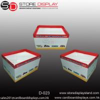 Quality FSDU Corrugated display table box for toys for sale