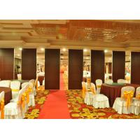Wooden Sliding Partition Walls Hanging Office Partition System For Banquet Hall Manufactures