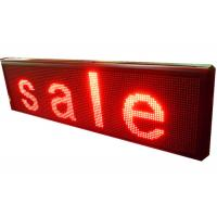 Single Color P10 Outdoor Led Scrolling Message Board For Date Display Manufactures
